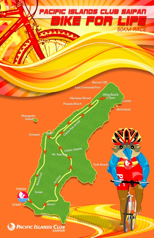Bike For Life Course Map 2014