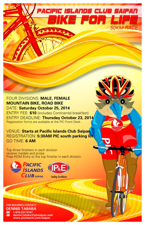 Bike For Life 2014 Event Poster