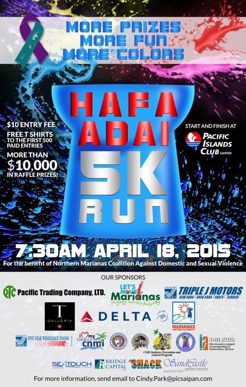 Hafa Adai 5K Run